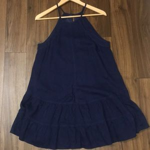 Dark Jean Dress